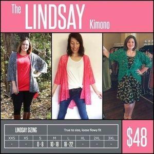 LuLaRoe Swim - Large Lindsay Kimono Lularoe - NWT